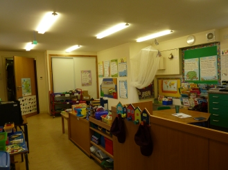 This is the nursery there is one child in nursery.