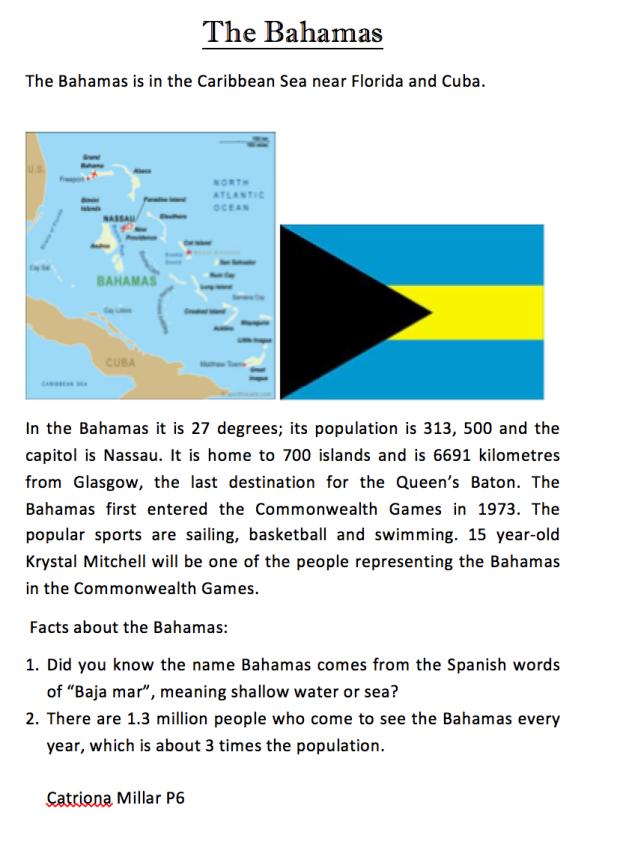 Poster Bahamas