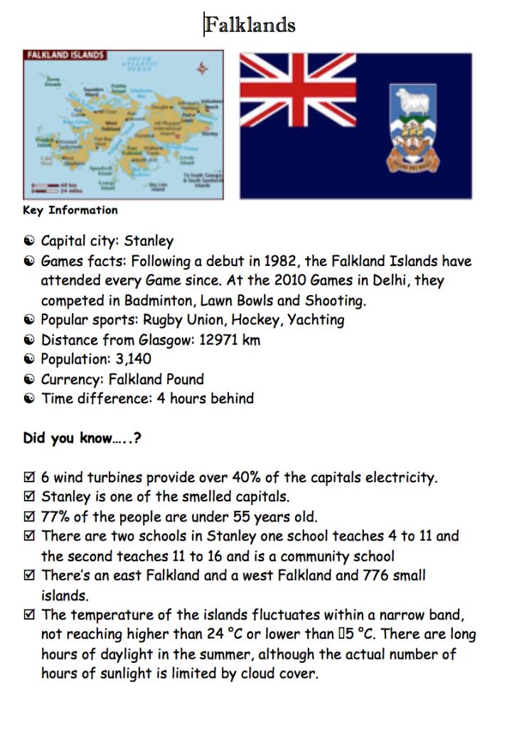 Poster Falklands