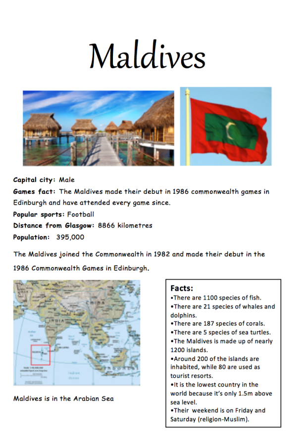 Poster Maldives