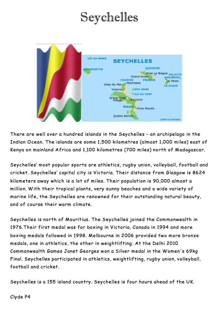 Poster Seychelles