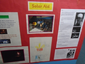 Solar Aid Display
