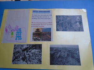 Nepal Earthquake display