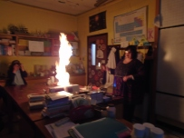Blowing up the school in chemistry
