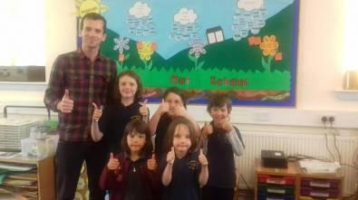 Eigg Primary classroom