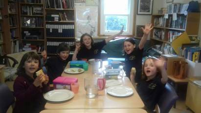 Eigg Primary lunchtime